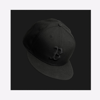 Black on Black<br />Ball Cap